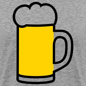 Beer mug T-Shirts - Men's Premium T-Shirt
