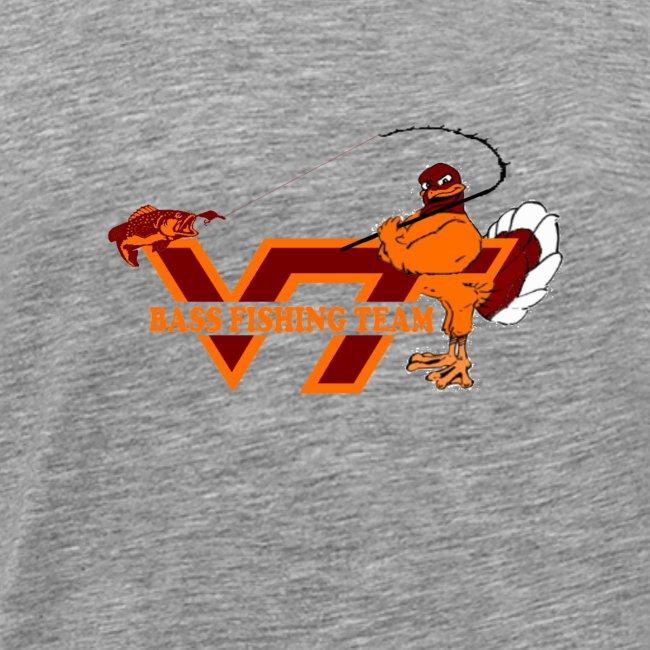 Virginia Tech Bass Fishing Team 3XL