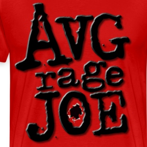 AVERAGE JOE CLASSIC LOGO BLACK T-Shirts - Men's Premium T-Shirt