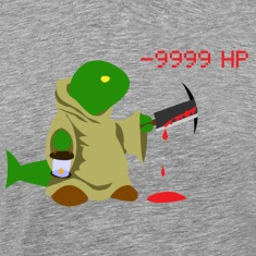 9999 DAMAGE!!! Men's T-Shirt