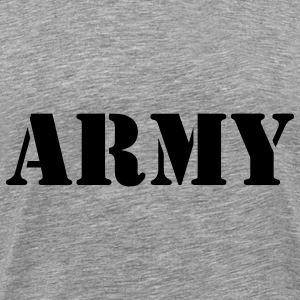 Army (V) T-Shirts - Men's Premium T-Shirt