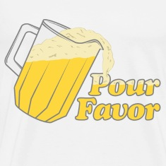 Pour Favor Beer Irish T-Shirts