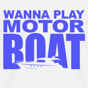 Wedding Crashers Motor Boatin T-Shirts - Men's Premium T-Shirt