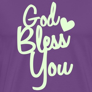 god bless you T-Shirts - Men's Premium T-Shirt