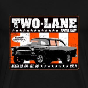 Two Lane Speed Shop - Men's Premium T-Shirt