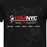 Design ~ EDMNYC BASIC BLACK TEE