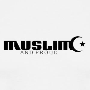 Muslim And Proud T-Shirt  - Men's Premium T-Shirt