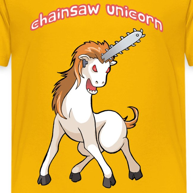 Chainsaw Unicorn for kids!