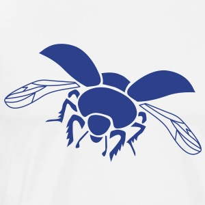 dung beetle wings insect fly T-Shirts - Men's Premium T-Shirt