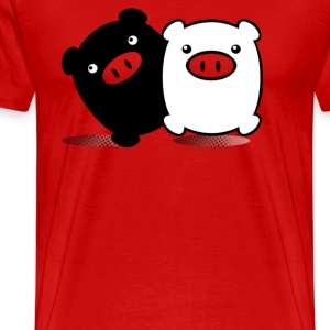 TWINPIGS 2 - Men's Premium T-Shirt
