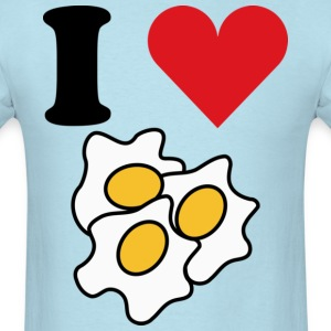 I Love Eggs T-Shirts - Men's T-Shirt