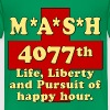MASH Life Liberty And The Pursuit of Happy Hour Kids' Shirts - Kids' Premium T-Shirt