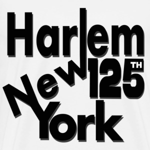 Harlem,New York 125th - Men's Premium T-Shirt