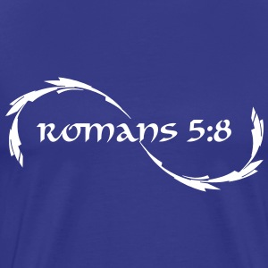 Romans 5:8 - Men's Premium T-Shirt