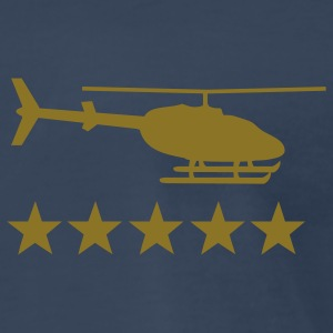 heli 5 star T-Shirts - Men's Premium T-Shirt