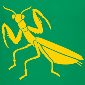 praying mantis bug insect Kids' Shirts - Kids' Premium T-Shirt