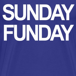 """Sunday Funday"" Jersey Shore T-Shirts - stayflyclothing.com - Men's Premium T-Shirt"