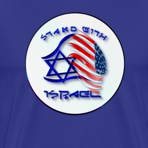 Stand With Israel - Men's Premium T-Shirt