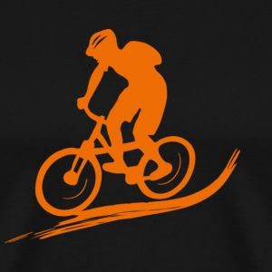 Biker Mountainbike Bike MTB Downhill sport biking  T-Shirts - Men's Premium T-Shirt
