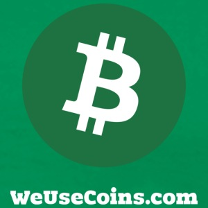 Green Bitcoin - Men's Premium T-Shirt