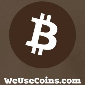 Brown Bitcoin - Men's Premium T-Shirt