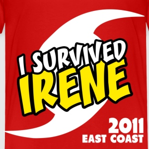 Survived Irene 2001 Toddler Shirts - Toddler Premium T-Shirt