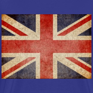 Faded UK Flag T-Shirts - Men's Premium T-Shirt