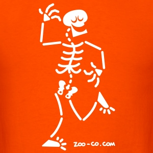 Dancing Skeleton T-Shirts - Men's T-Shirt