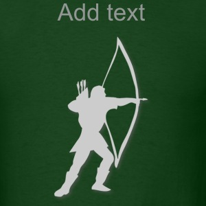 archery longbow medieval by patjila2 T-Shirts - Men's T-Shirt