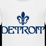 Design ~ Fleur De Lis Detroit Toddler T-Shirt