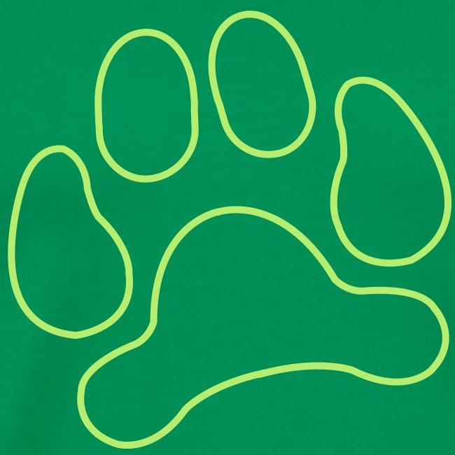 t-shirt lynx cat cougar paw cheetah animal track hunt hunter hunting