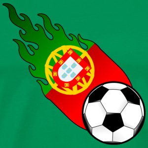Fireball Football Portugal T-Shirts - Men's Premium T-Shirt
