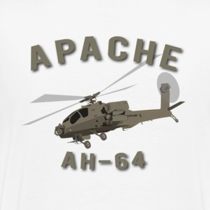 Apache with Master Aviator - Men's Premium T-Shirt