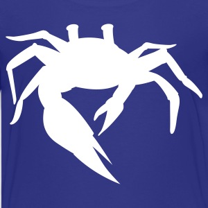 simple sand crab Kids' Shirts - Kids' Premium T-Shirt