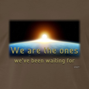 We Are The Ones We've Been Waiting For (Men's - heavyweight cotton tee) - Men's Premium T-Shirt