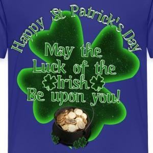 Happy St Patrick's Day - Pot of Gold - Kids' Premium T-Shirt