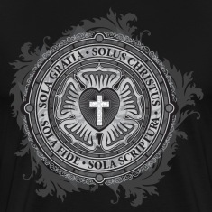 Luther Rose - Gothic Black T-Shirts