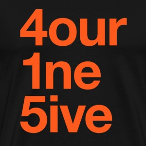 415 Area Code T-shirt - Men's Premium T-Shirt
