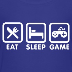 Eat sleep game Kids' Shirts