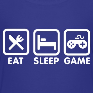 Eat sleep game Kids' Shirts - Kids' Premium T-Shirt