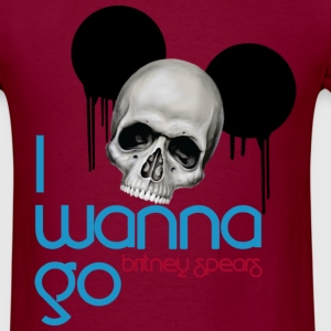 I Wanna Go Version 2 - Men's T-Shirt