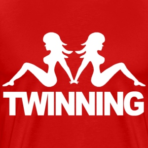 """Twinning"" Jersey Shore T-Shirts - stayflyclothing.com - Men's Premium T-Shirt"