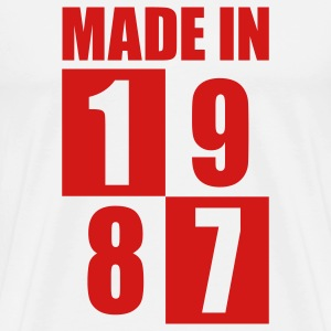 Made In 1987 T-Shirts - Men's Premium T-Shirt