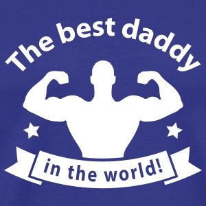 daddy_best_1 T-Shirts - Men's Premium T-Shirt
