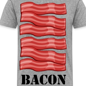 BACON BACON BACON T-Shirt. - Men's Premium T-Shirt