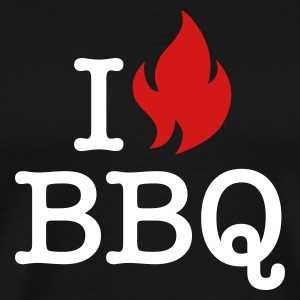 I Love BBQ T-Shirts - Men's Premium T-Shirt