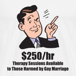 Marriage Equality Therapy - Men's Premium T-Shirt