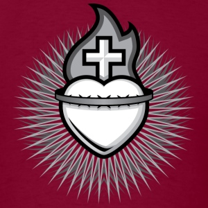Sacred Heart - Men's - Men's T-Shirt