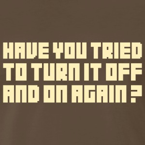 Turn it off T-Shirts - Men's Premium T-Shirt