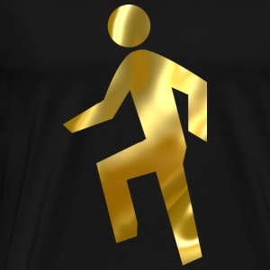Everyday Im Shufflin gold 02 - Men's Premium T-Shirt